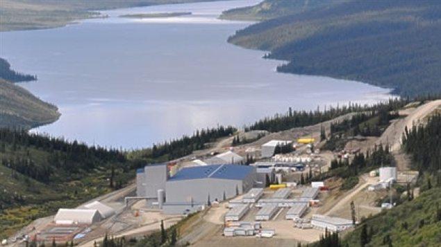 La mine Wolverine au Canada